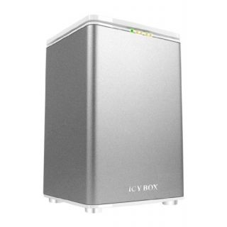 Product image of ICY BOX IB-RD3262-USE2 IcyBox IB-RD-3262-USE2 2-bay RAID-System for 3.5'' SATA HDDs