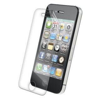 Product image of ZAGG - MOBILE PHONE ACCS APPLE IPHONE 4/4S (HD) CASE FRIENDLY SCREEN