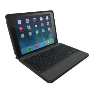 Product image of ZAGG Rugged Book Durable, Magnetic-Hinged Bluetooth Keyboard and Case for Apple (9.7 inch) iPad Pro