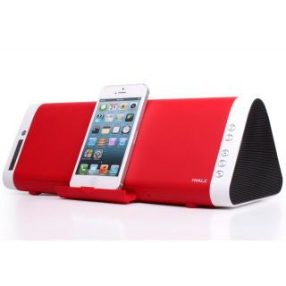 Product image of iWALK Sound Angle SPS001 Bluetooth Speaker with Stand (Red) for Smartphones and Tablets