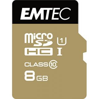 Product image of EMTEC Micro SDHC Class 10 Gold+ (8GB) Flash Card