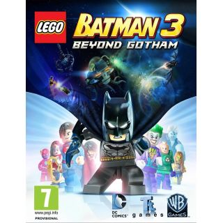 Product image of LEGO Batman 3: Beyond Gotham - Age Rating:7 (PC Game)