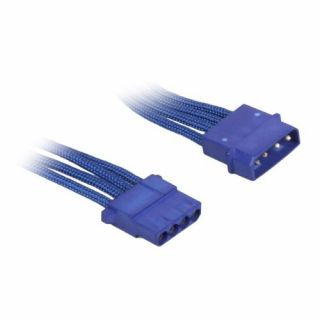 Product image of BitFenix BFA-MSC-MM45BB-RP BitFenix Alchemy Molex Extension 45cm - sleeved blue/blue