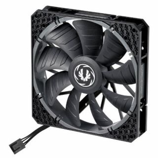 Product image of BitFenix BFF-SPRO-P14025KK-RP BitFenix Spectre PRO PWM 140mm Fan - Black