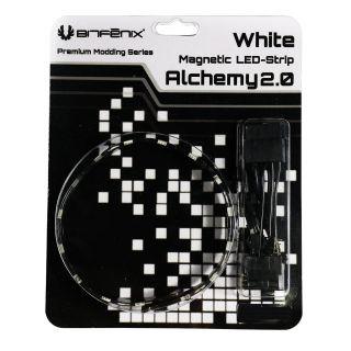 Product image of BitFenix Alchemy 2.0 Magnetic Connect 6 LED-Strip 12cm - White