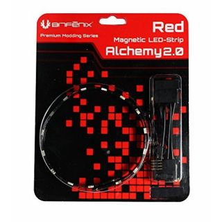 Product image of BitFenix Alchemy 2.0 Magnetic Connect 6 LED-Strip 12cm - Red