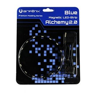 Product image of BitFenix Alchemy 2.0 Magnetic Connect 15 LED-Strip 30cm - Blue