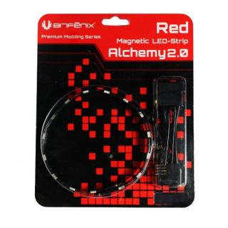 Product image of BitFenix Alchemy 2.0 Magnetic Connect 30 LED-Strip 60cm - Red