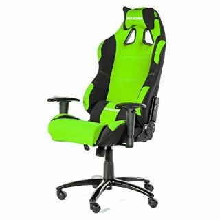 Product image of AKRacing AK-K7018-BG AK Racing Prime Gaming Chair - Green & Black