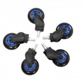 Product image of AKRacing AK-ROLLCAST-BL AK Racing Rollerblade Casters - Blue