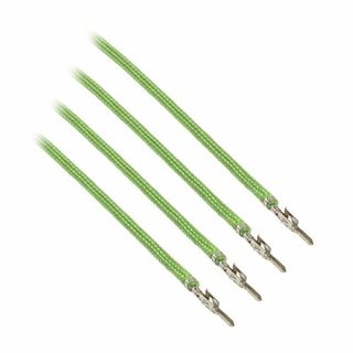 Product image of Cable Mod CM-MSW-16LG-4-R CableMod ModFlex Sleeved Cable Light Green 40cm - 4 Pack