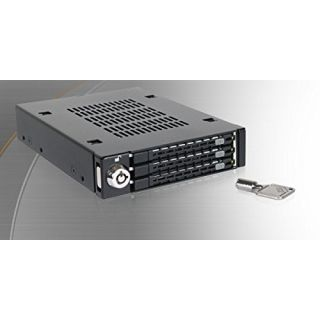 Product image of Icy Dock Triple Bay 2.5 SAS/SATA HDD & SSD Mobile Rack For 3.5 Front Device Bay