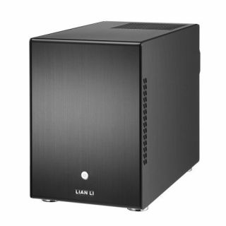 Product image of Lian-Li PC-Q25B Lian Li PC-Q25B Mini-ITX Cube - Black