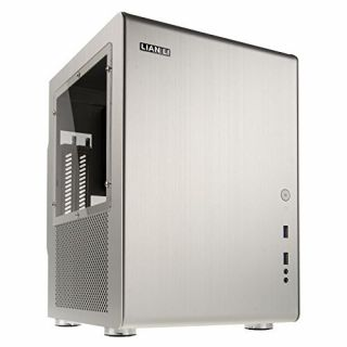 Product image of Lian-Li PC-Q33WA Lian Li PC-Q33WA Mini-ITX Cube - Silver Window
