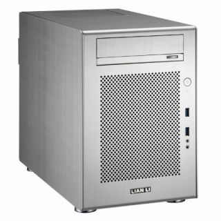 Product image of Lian-Li PC-Q18A Lian Li PC-Q18A Mini-ITX Cube Case - Silver