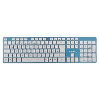 Product image of Lian-Li KB-01W-BU Bluetooth Keyboard - Blue
