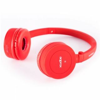 Product image of APPROX APPHSBT02R Approx (APPHSBT02R) Bluetooth 3.0 Headset Built-in Mic Call Button & Volume Control Red Retail
