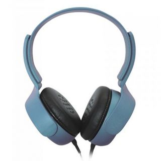 Product image of APPROX APPDJULB Approx (APPDJULB) Urban Stereo Headset In-line Mic Ergonomic 3.5mm Jack Blue Retail