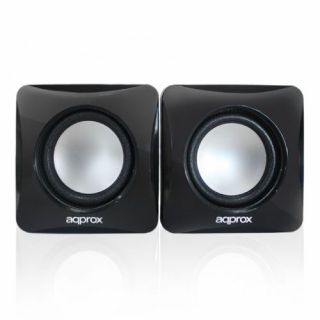 Product image of Approx (APPSPXLITE) 2.0 Stereo Speakers 6W RMS Black Retail