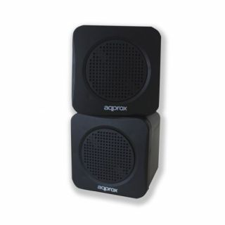 Product image of Approx (APPSPAE) Mini Speakers 5W Black Retail