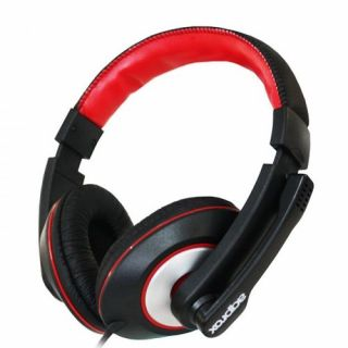 Product image of APPROX APPHS04PRO Approx (APPHS04PRO) Professional Chat Headset Boom Mic Volume Control Red & Black Retail