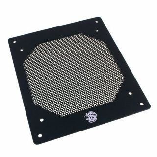 Product image of Bitspower BP-CDRG140ALBK-MS Bitspower Mesh Radgard 140 Single Radiator Grill Black