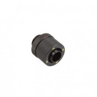 Product image of Bitspower BP-CBCPF-CC2V2 Bitspower Connection 1/4 Inch to 13/10 mm - Carbon Black