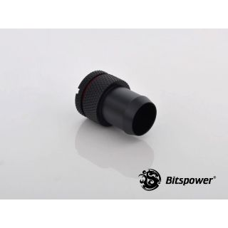Product image of Bitspower BP-CBWP-C31 Bitspower Fitting 1/4 Inch ID to 13mm blanking plug - Carbon Black