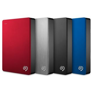 Product image of LACIE STDR4000901 SEAGATE 4TB BACK UP PLUS 2.5 INCH USB3.0 EXTERNAL HDD BLUE
