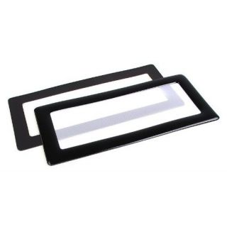 Product image of DEMCiflex 2x40mm Type2/magnets DEMCiflex Dust Filter 2x40mm Square - Black/White