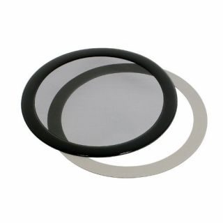 Product image of DEMCiflex DF0017 DEMCiflex Dust Filter 140mm Round - Black/Black