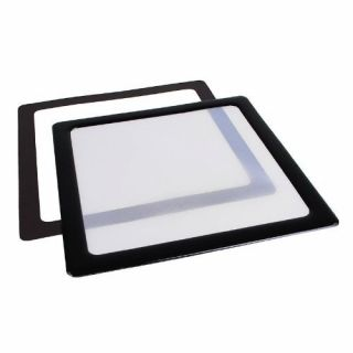 Product image of DEMCiflex DF0506 DEMCiflex Dust Filter 230mm Square - Black/White