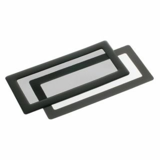 Product image of DEMCiflex Dust Filter 2x40mm Square - Black/Black