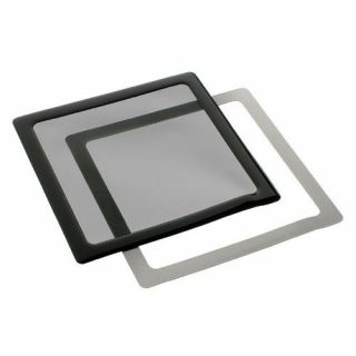 Product image of DEMCiflex Dust Filter 140mm Square - Black/Black