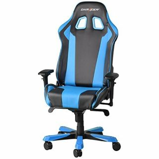 Product image of DXRacer OH/KF06/NB DXRacer OH/KF06/NB King Series Gaming Chair - Black/Blue