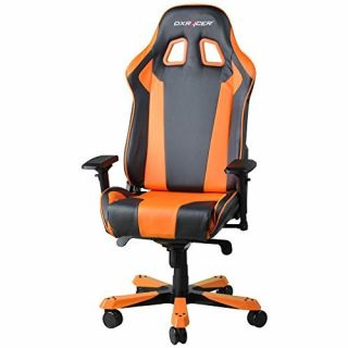 Product image of DXRacer OH/KF06/NO DXRacer OH/KF06/NO King Series Gaming Chair - Black/Orange