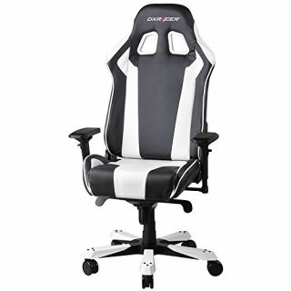 Product image of DXRacer OH/KF06/NW DXRacer OH/KF06/NW King Series Gaming Chair - Black/White