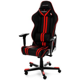 Product image of DXRacer OH/RF9/NR Racing Series Gaming Chair - Red Stripes