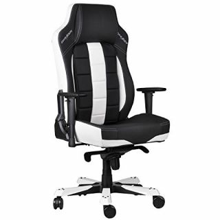 Product image of DXRacer Classic Series Gaming Chair - Black/White OH/CE120/NW