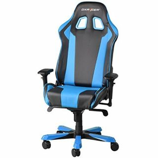 Product image of DXRacer King Series Gaming Chair - Black/Blue OH/KS06/NB