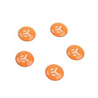 Product image of EK Water Blocks EK-Badge Orange (5 pcs)