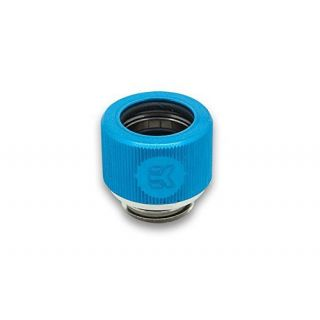 Product image of EK Water Blocks EK-HDC Fitting 12mm G1/4 - Blue
