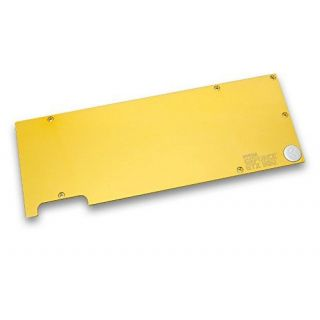 Product image of EK Water Blocks EK-FC980 GTX Backplate - Gold