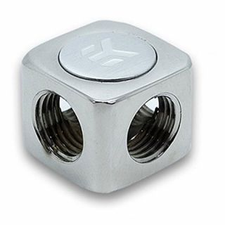 Product image of EK Water Blocks EK-AF X-Splitter 4F G14 - Nickel