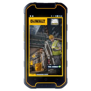 Product image of RUGGEAR THE DEWALT PHONE 5IN 16GB BLACK 4G IP68/MIL 810G ANDROID 5.1 IN