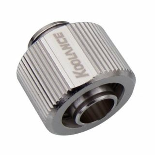 Product image of Koolance NZL-V10-16KG Koolance Nozzle Single Compression for 10mm x 16mm (3/8in x 5/8in)