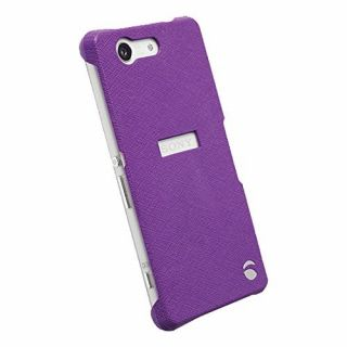 Product image of KRUSELL - MALMO TEXTURE COVER PURPLE for SONY XPERIA Z3 COMPACT*