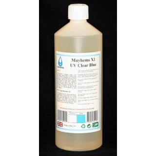 Product image of Mayhems 0609224351105 Mayhems X1 UV Clear Blue Premixed Watercooling Fluid 1L