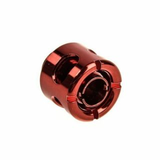 Product image of Monsoon FCC-3812-1P-RD Monsoon 13/10mm (ID 3/8 OD 1/2) Free Center Compression Fitting - Red