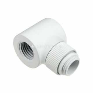 Product image of Monsoon MON-RO-90-12-WH Monsoon 13/10mm (OD 1/2) Rotary 90 - White